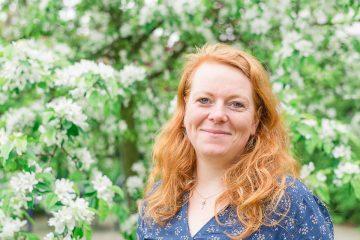 Teamleiterin Sandy Hoeft